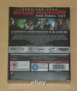 Blade Runner The Final Cut Titans of Cult Limited 4K Blu Ray Steelbook Sealed UK