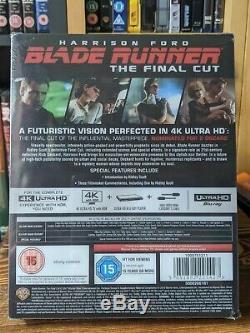 Blade Runner Titans Of Cult 4K UHD Steelbook Blu Ray NEW & SEALED