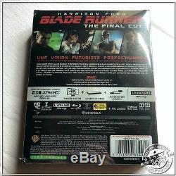 Blade Runner Titans of Cult #1 4K UHD + BluRay Steelbook NEU UNIKAT
