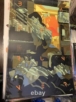 Blade Runner Tomer Hanuka LE of 45 Mondo Artist Privately Commissioned In Hand