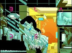 Blade Runner Tomer Hanuka Mondo Poster Print RARE XX/45 Large Mint Condition