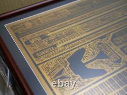 Blade Runner Tyrell Corporation Building Etched Panel Prop Rick Deckard from JP