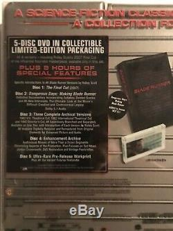 Blade Runner-Ultimate Collectors Edition DVD, 2007 5-Disc Set BRAND NEW FREESHIP