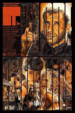 Blade Runner Variant Alternative Movie Poster by Christopher Cox #/57 NT Mondo