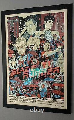 Blade Runner Variant Print by Tyler Stout & Mondo #018/100 RARE movie poster