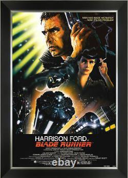 Blade Runner Vintage Movie Poster Framed Art Print