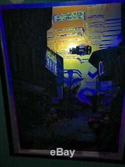 Blade Runner We Scared. Foil Variant Movie Poster Tim Doyle Artist Proof
