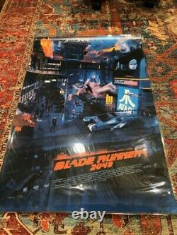 Blade Runner by Chris Skinner Screen Printed Movie Poster Mondo Spielberg