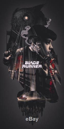 Blade Runner by John Guydo Ltd x/200 Screen Print Poster Art MINT Mondo Movie