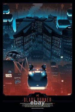 Blade Runner by Matt Ferguson Ltd x/250 Screen Print Poster Art MINT Movie Mondo