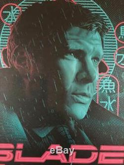 Blade Runner by Tracie Ching SIGNED SPOKE Art Gallery Print