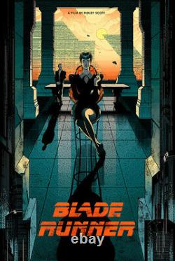 Blade Runner by Victo Ngai Ltd x/70 Rare Art Print Poster Print Mondo Movie