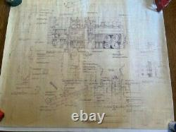 Blade Runner copy of the original blueprint #7 from the movie