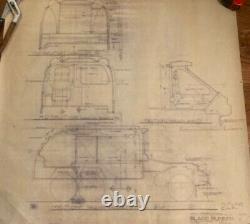 Blade Runner original blueprint Exterior Buildings #11 from movie set