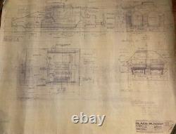 Blade Runner original blueprint Exterior Spinner #18 from movie set
