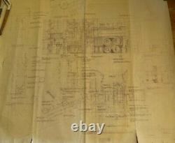 Blade Runner original blueprint Exterior Urban Street #7 from movie set