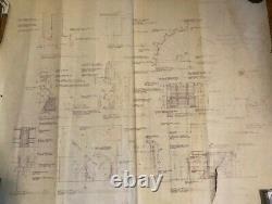 Blade Runner original blueprint Exterior Urban Street #8 from movie set