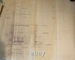 Blade Runner original blueprint Exterior Urban Street #9 from movie set