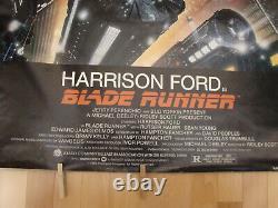 Blade Runner original movie poster 1982 NSS 820007 never folded one sheet