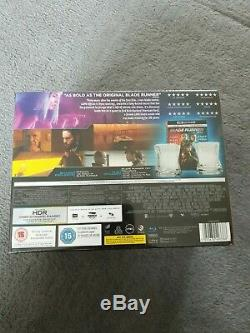 Blade runner 2049 4K limited edition with wisky tumblers
