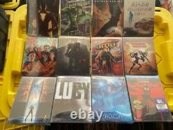 Blu-Ray and 4K Steelbooks Choose! Please ask to see any Pics