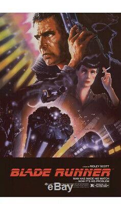Bottleneck Blade Runner Harrison Ford Poster John Alvin NOT MONDO