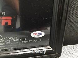 DIRECTOR RIDLEY SCOTT SIGNED'BLADE RUNNER' 12x18 MOVIE POSTER PSA Sticker Only