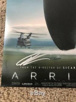 Denis Villeneuve Autographed 12x18 Photo Blade Runner 2049 Arrival Sicario
