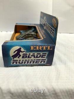 ERTL 1982 Blade runner Movie 4 car gift set 1/64 3 spinners & ground car MISB