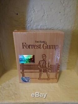 Forrest Gump UHD club premium wood etched case 4k oop htf vhtg