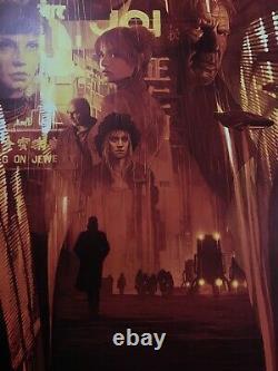 Gabz Blade Runner 2049 Print Movie Poster Mondo Grzegorz Domaradzki Tyler Stout