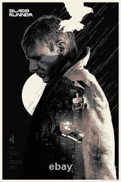 Gabz Blade Runner screen print movie poster limited regular edition