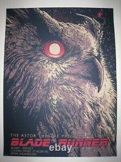 Godmachine Blade Runner Limited Edition Movie Print. Rare (not Mondo)