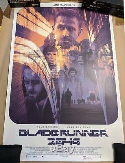 Grzegorz Krzysztof Gabz Blade Runner 2049 Variant Movie Print Poster