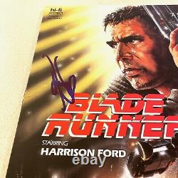 HARRISON FORD signed autographed BLADE RUNNER LASERDISC COVER BECKETT BAS COA