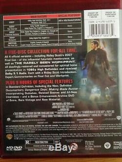 HD DVD Blade Runner Limited Edition Brief Case 5 Disc Collectors Edition