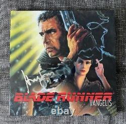 Harrison Ford Signed Blade Runner Soundtrack Vinyl Beckett Auth PHOTO PROOF