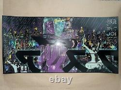 Hey Joe Foil Variant X/150 Chris Thornley Raid71 Blade Runner 2049 Screenprint
