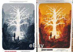 IN UK Bosma Blade Runner 2049 Regular & Variant Movie Poster Not Mondo