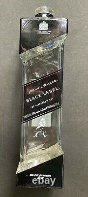Johnnie Walker Black Label Blade Runner 2049 EMPTY scotch Bottle & Box, Deckard