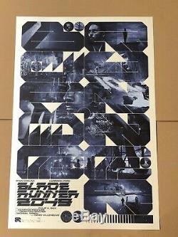 Krzysztof Domaradzki Blade Runner 2049 REG Movie Poster Screen Print