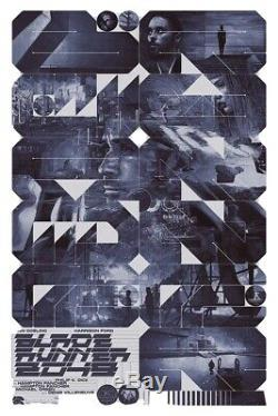 Krzysztof Domaradzki Blade Runner 2049 REG Movie Poster Screen Print Mondo