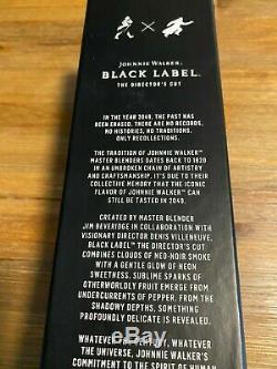Limited Johnnie Walker Directors Cut Blade Runner 2049 Bottle + Box Brand New