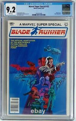 Marvel Super Special #22 1982 CGC 9.2 NM- 1st Blade Runner Movie Adaptation