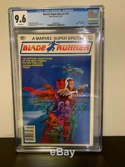 Marvel Super Special #22 CGC 9.6 NM+ Blade Runner Movie Steranko 1982