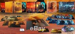 NEW Blade Runner 2049 3D & 4K XL Full Slip SteelBook Blu-ray FilmArena FAC -Mint