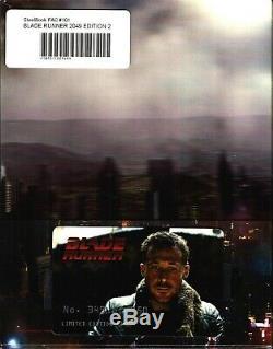 NEW Blade Runner 2049 3D XL Double Lenticular SteelBook Blu-ray FilmArena FAC