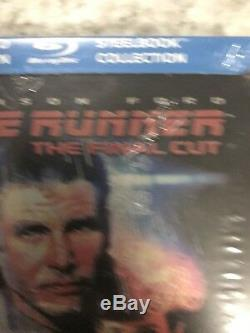 NEW Blade Runner The Final Cut Steelbook (Blu Ray) RARE- Future Shop