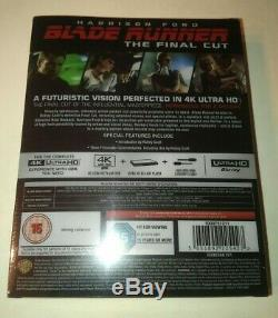 NEW SEALED Blade Runner The Final Cut Titans of Cult 4K STEELBOOK (UK Import)