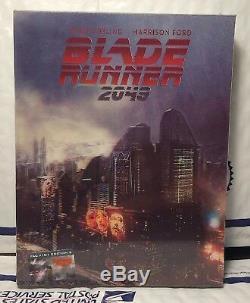 New Blade Runner 2049 3d+2d Blu-ray Double Lenti Slip Steelbook! Filmarena Ed. 2